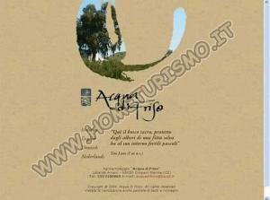 Agriturismo Camping Acqua di Friso ***