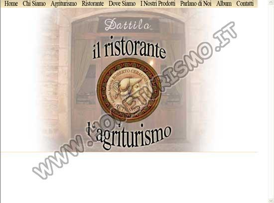 Agriturismo Ristorante Dattilo