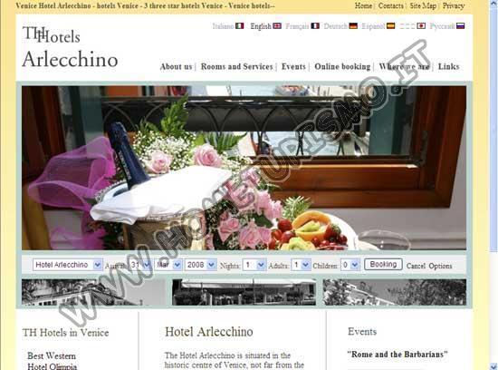 Hotel Arlecchino ***