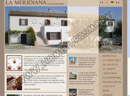 Agriturismo - Appartamenti la Meridiana