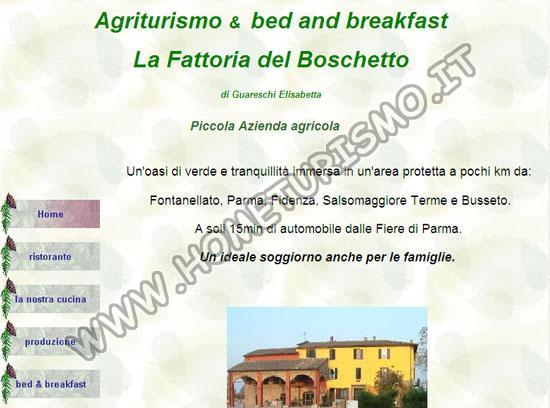 B&B Agriturismo la Fattoria del Boschetto