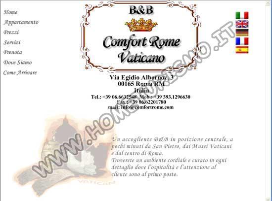 B&B Comfort Rome Vaticano