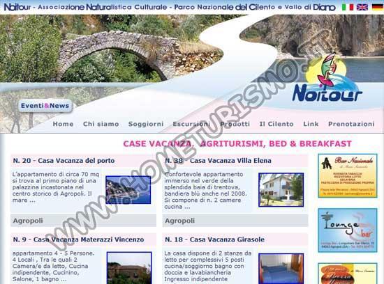 Vacanze nel Parco Nazionale del Cilento