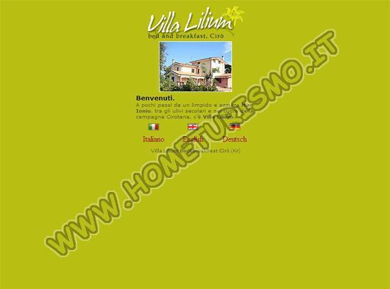 B&B Villa Lilium
