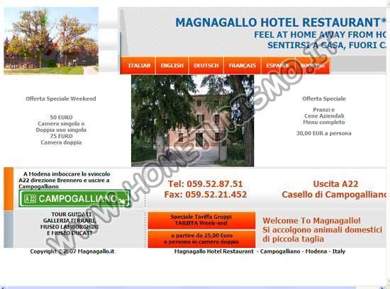 Hotel Ristorante Magnagallo ***