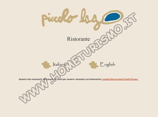 Hotel Ristorante Piccolo Lago ***